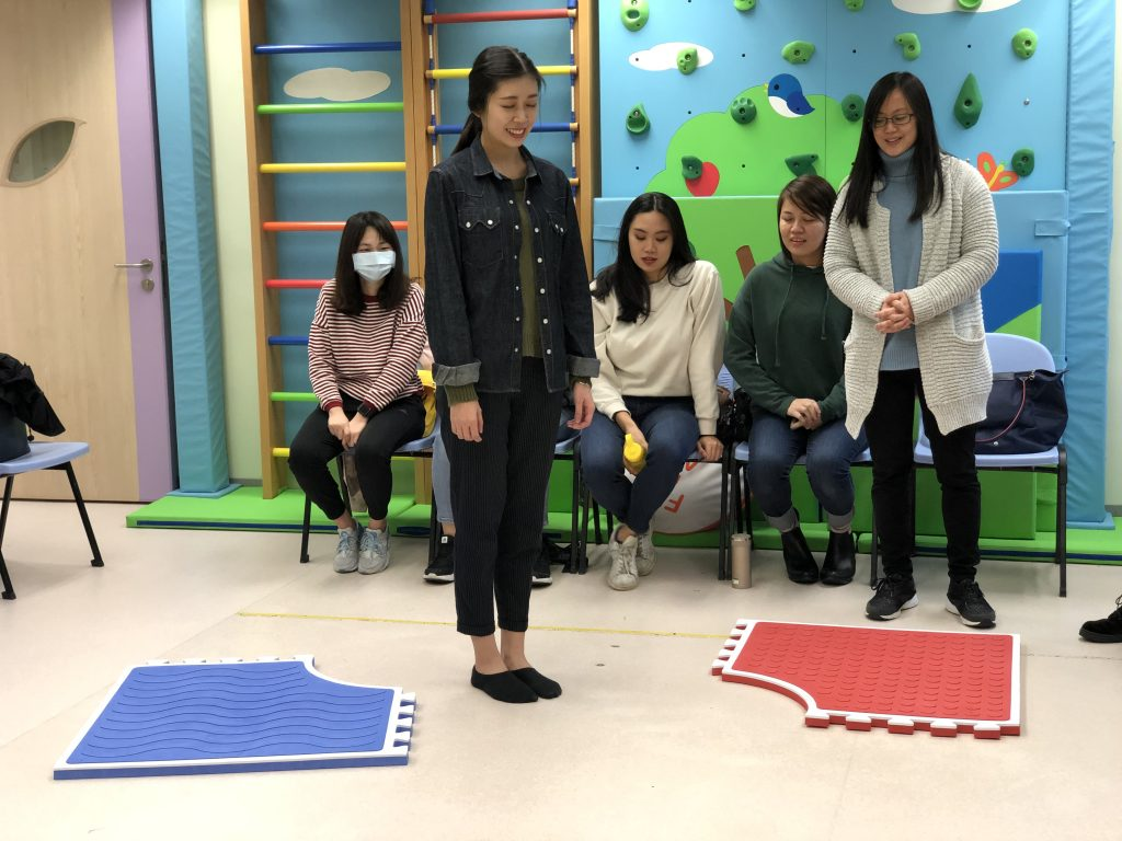 Teachers were receiving training to learn each game