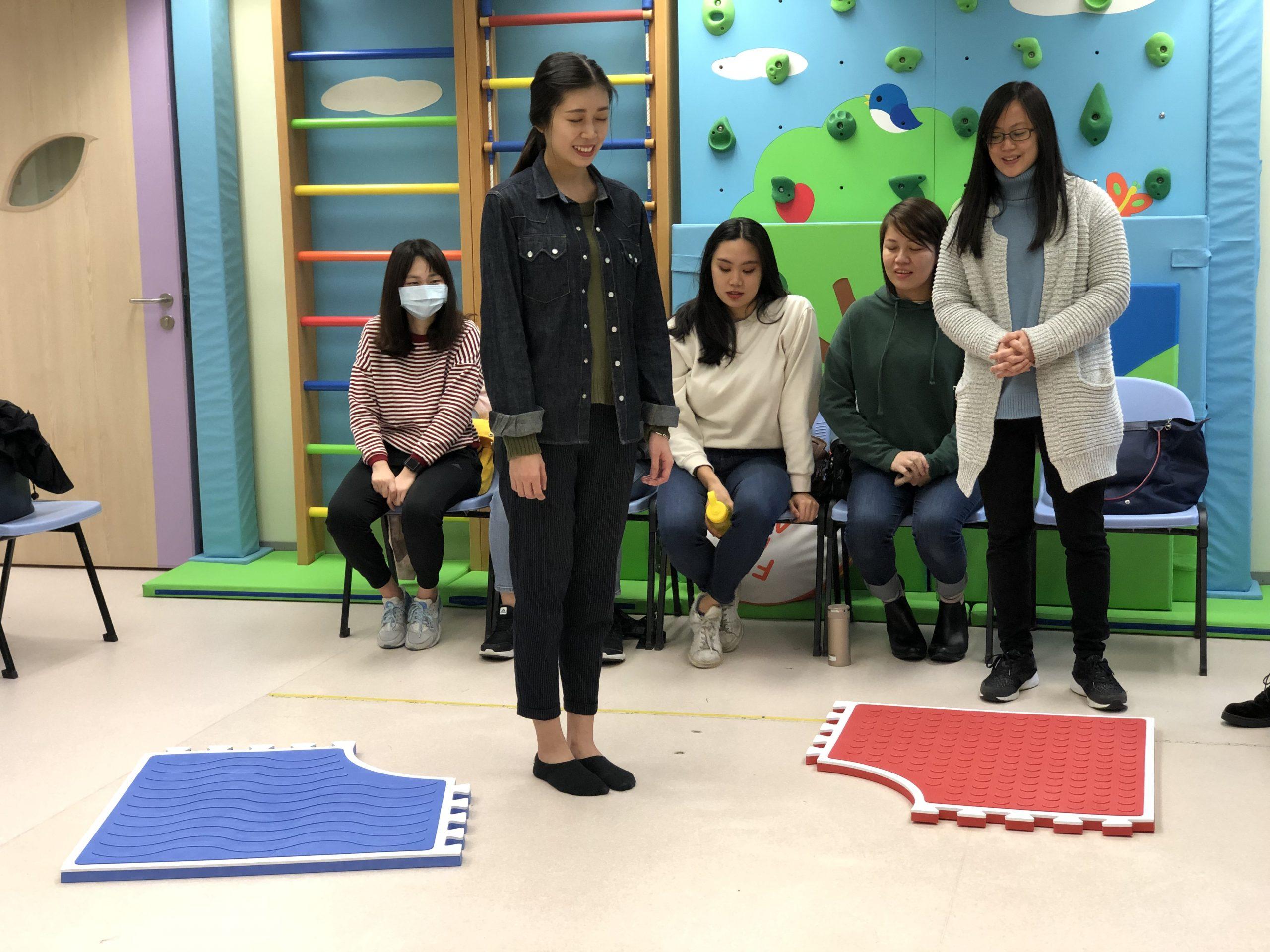 Teachers were receiving training to learn each game