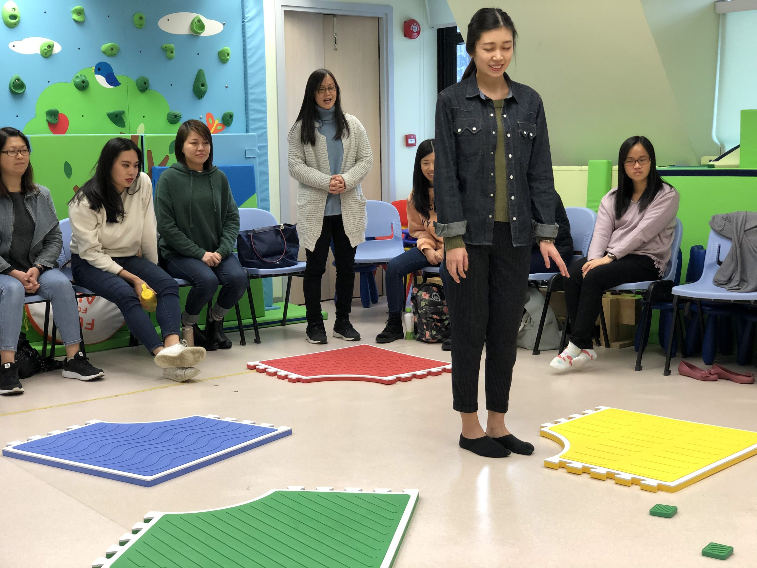 Tung wah teachers receive reach and match training